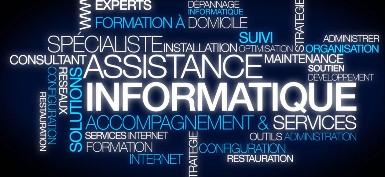 Assistance informatique pour le particulier, sur site,à distance ou en atelier, Assistance 7 jours sur 7, devis gratuits.